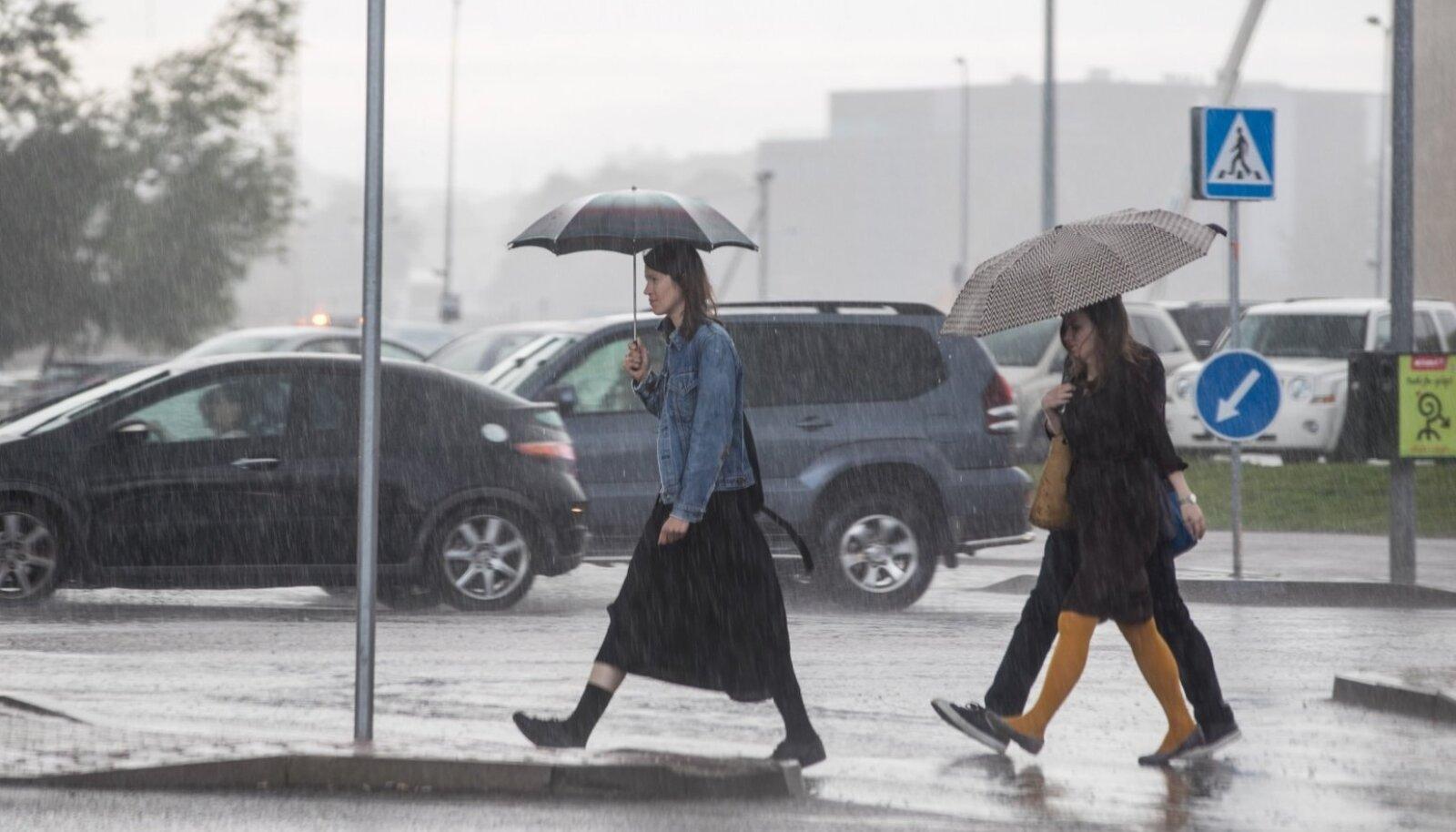 Vihmased Tallinna tänavad