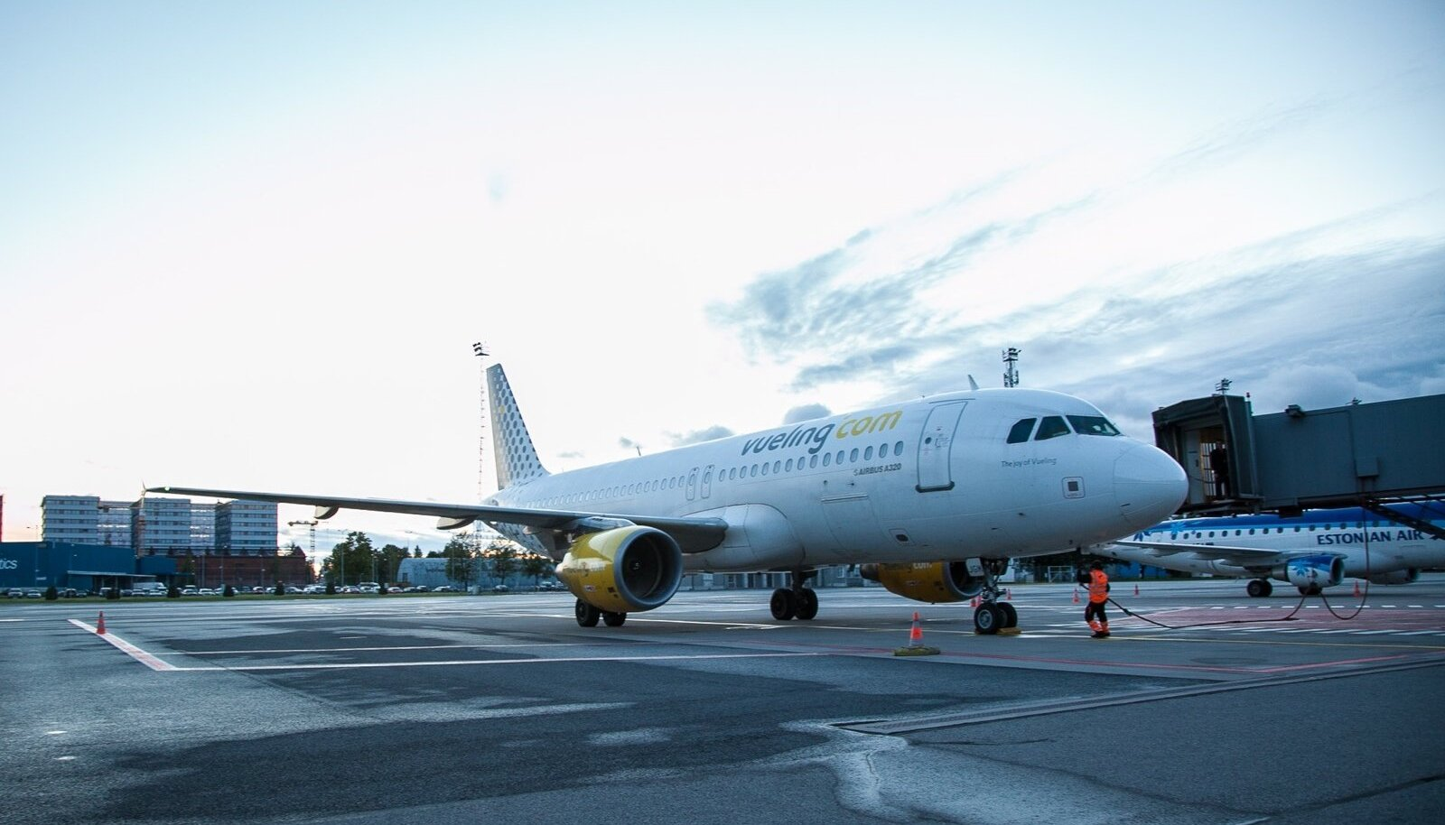 Vuelingi esimene lend Tallinnast