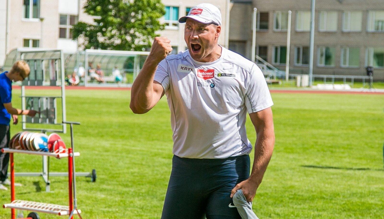 Rekordite muutmise käigus võib Gerd Kanterist saada maailmarekordi omanik.