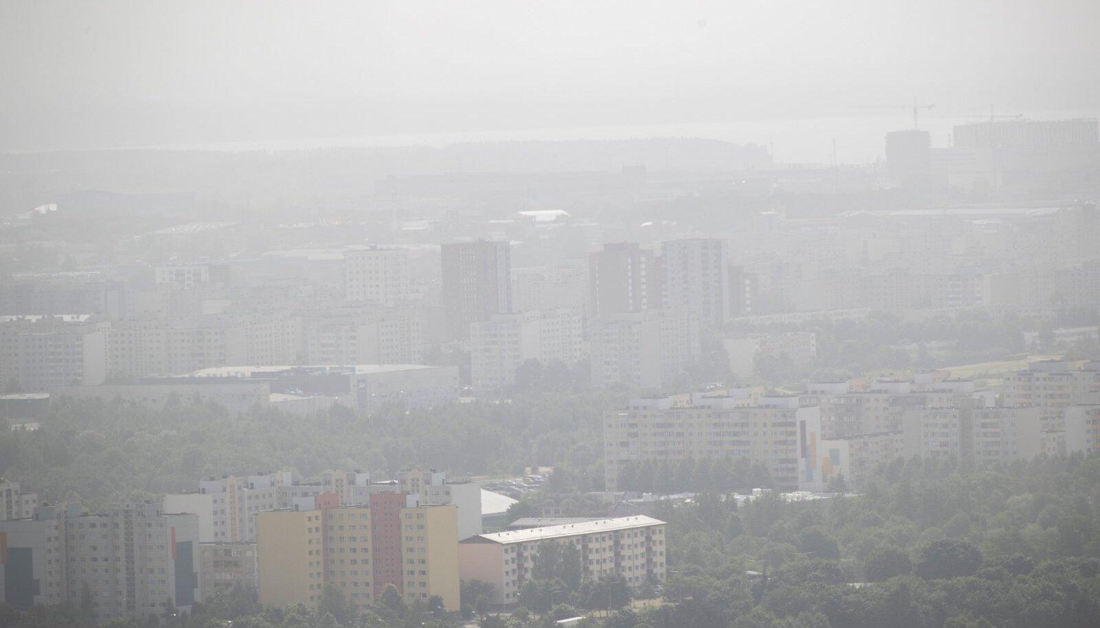 Tolm Tallinna kohal 22.06.2021.