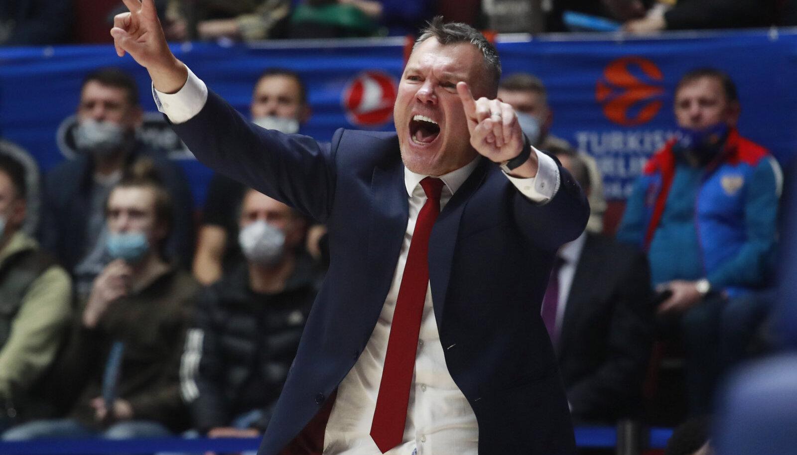 Barcelona peatreener Šarunas Jasikevicius