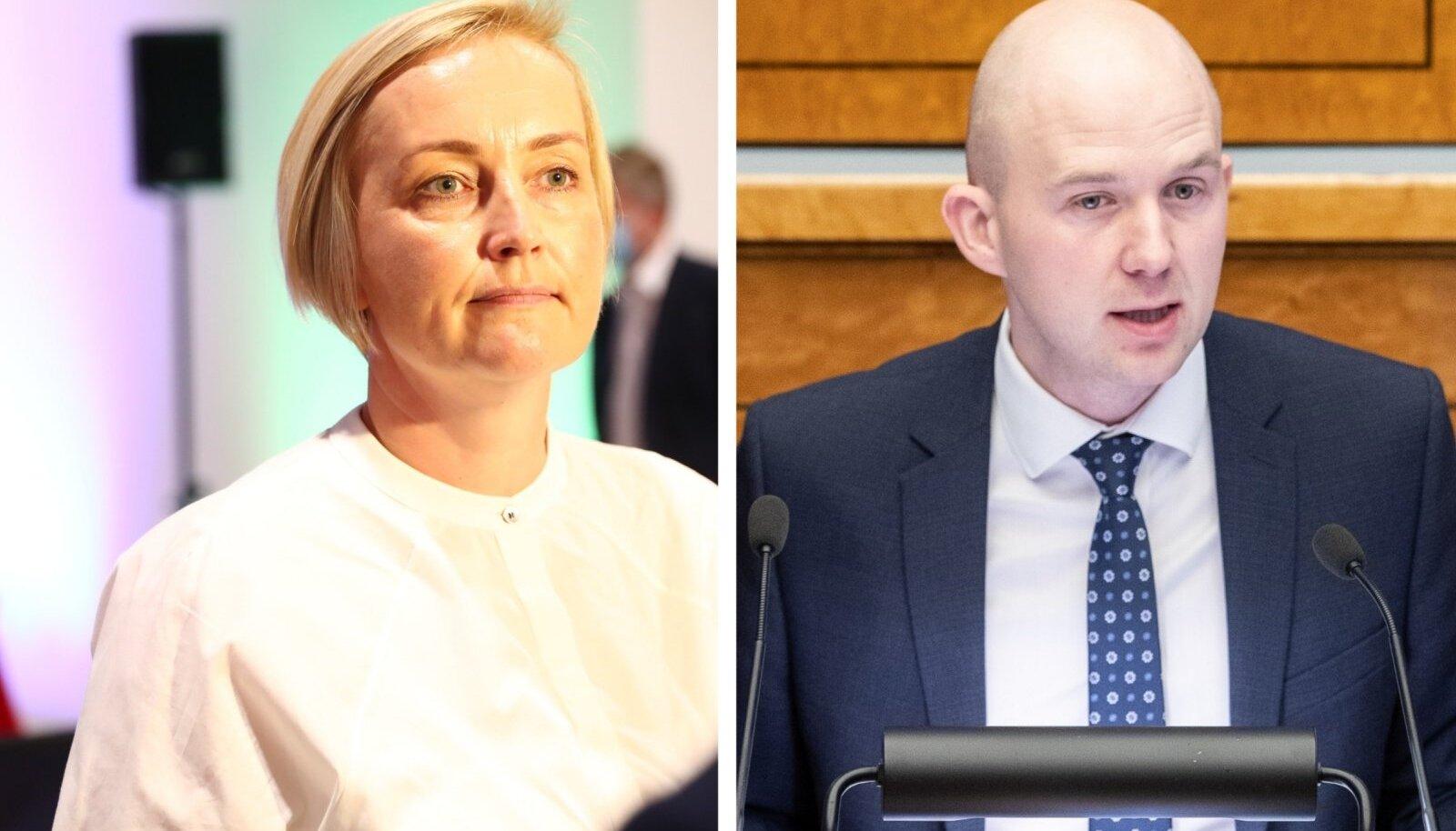 Kristina Kallas ja Tõnis Mölder.