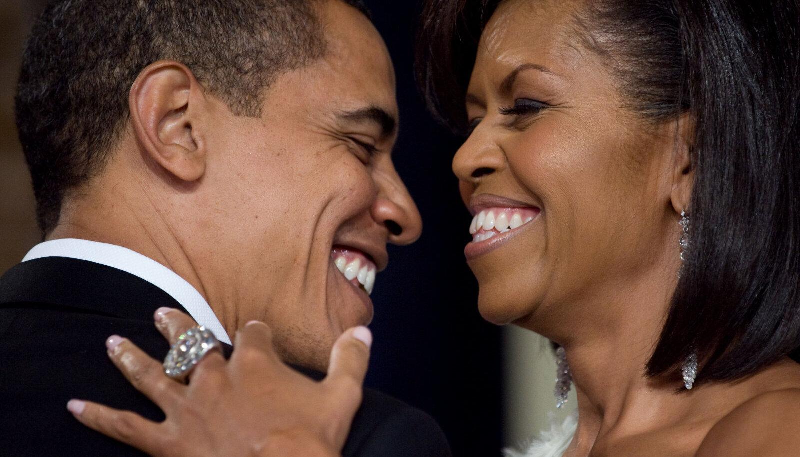 Michelle ja Barack Obama 2009. aastal.