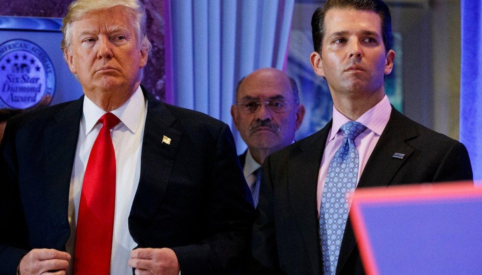 Donald Trump, Allen Weisselberg, Donald Trump jr