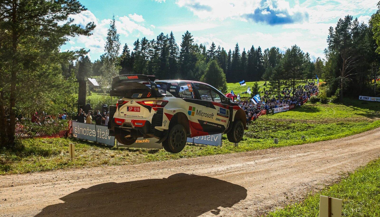 Sebastien Ogier Rally Estonial 2020