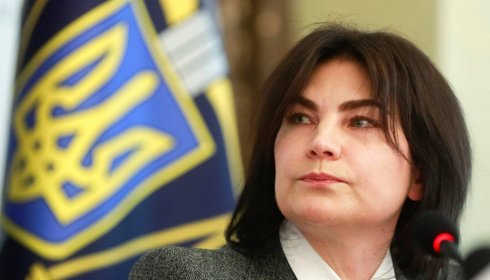 KÕRGE KÜLALINE: Ukraina peaprokurör Irõna Venediktova, keda mõned Eesti ärimehed peavad suurvarguse uurimise takistajaks.