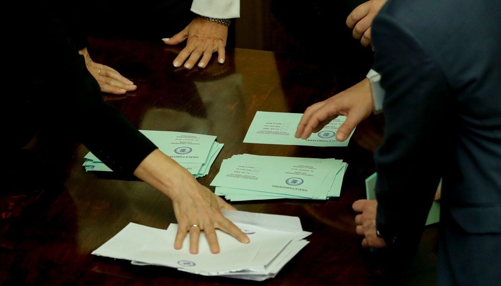 Пересчет голосов. Голосование в Рийгикогу. 2016