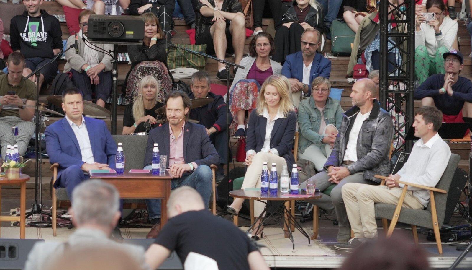 Parlamendierakondade debatt arvamusfestivalil 2021
