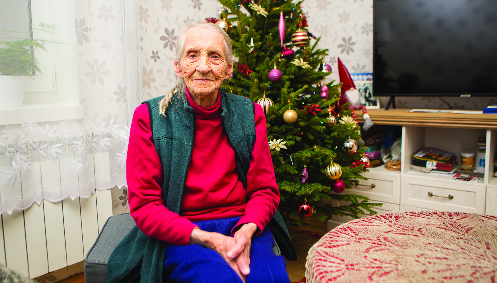 Valentina Võit pidas täna oma 100. sünnipäeva.