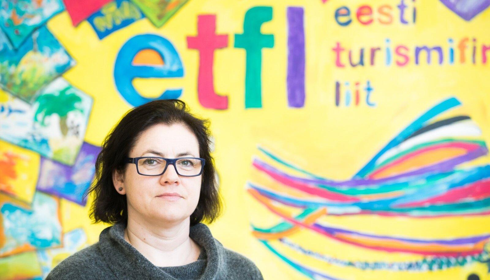 Turismifirmade Liidu juht Mariann Lugus