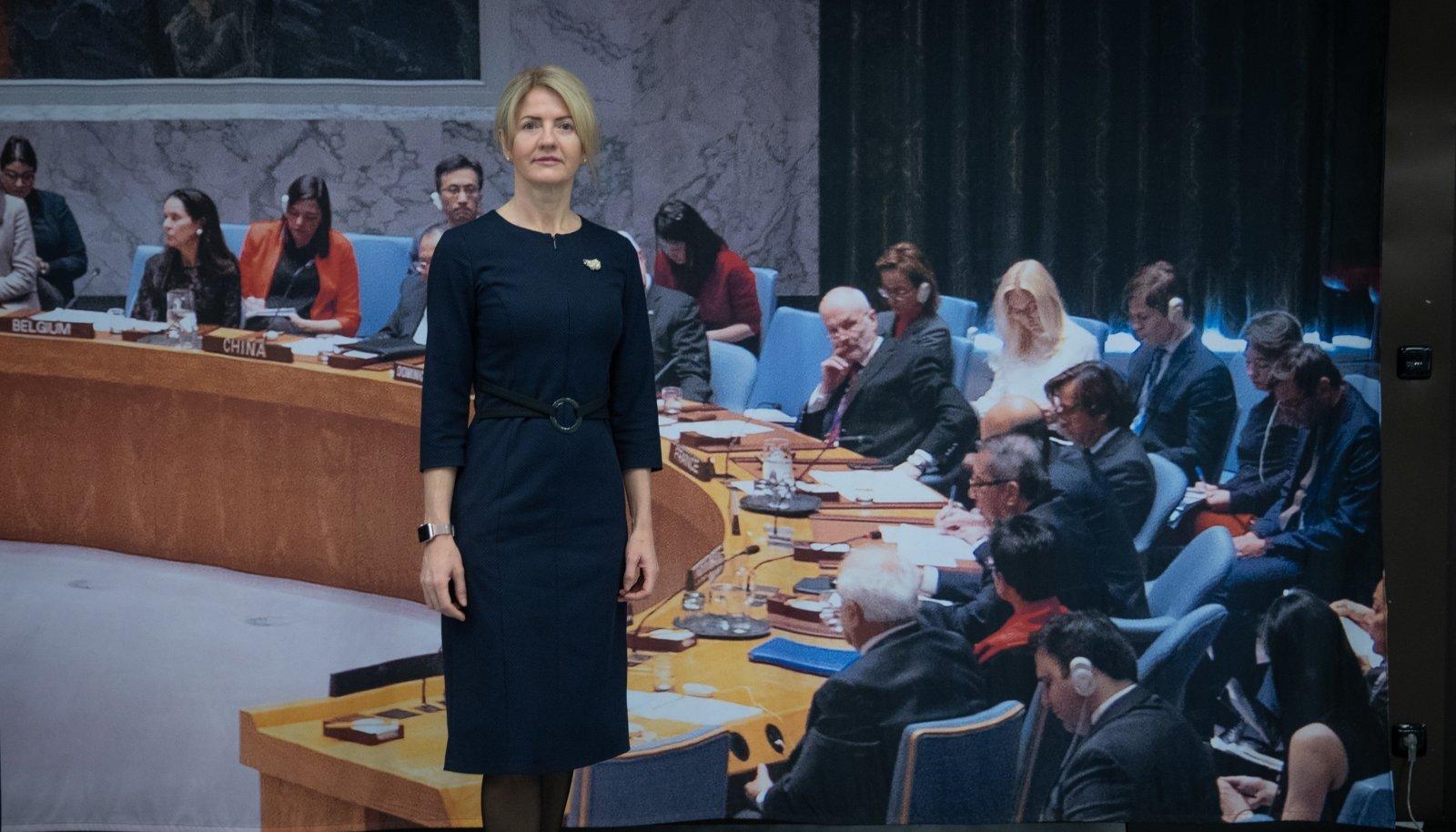 Välisminister Eva-Maria Liimetsa töö tulemus näiteks Soome piiriületusprobleemi lahendamises on olnud nullilähedane.