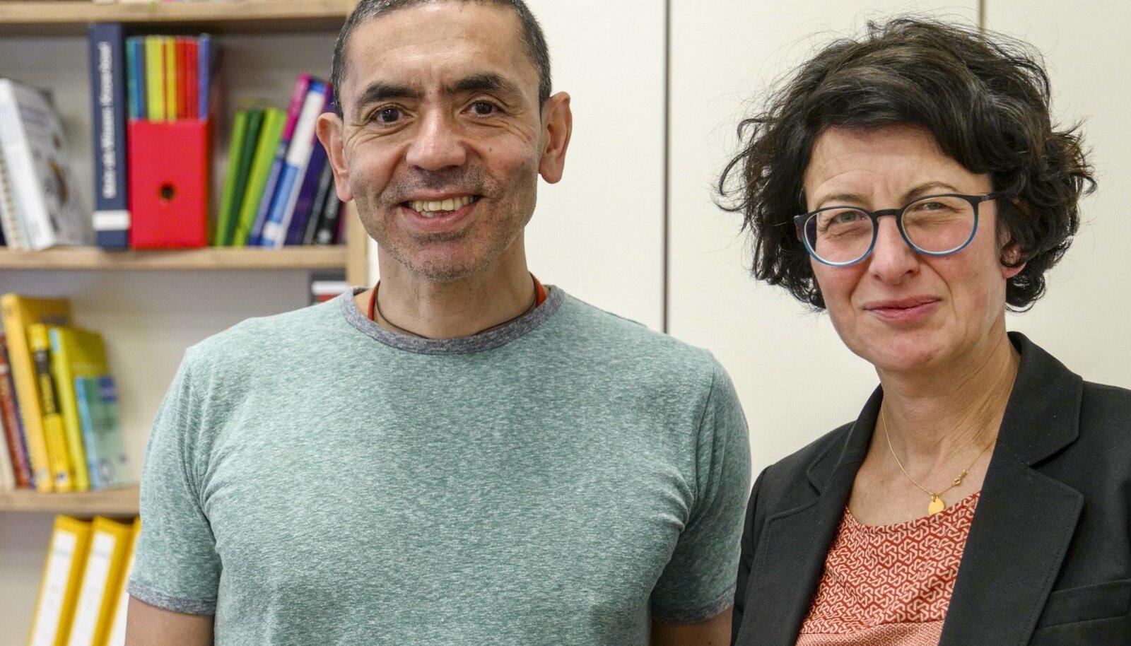 MAAILMAPÄÄSTJAD: BioNtechi loonud abielupaar Ugur Sahin ja Özlem Türeci. See pilt on maist 2018, kui maailm ei kujutanud praegust pandeemiat ettegi.