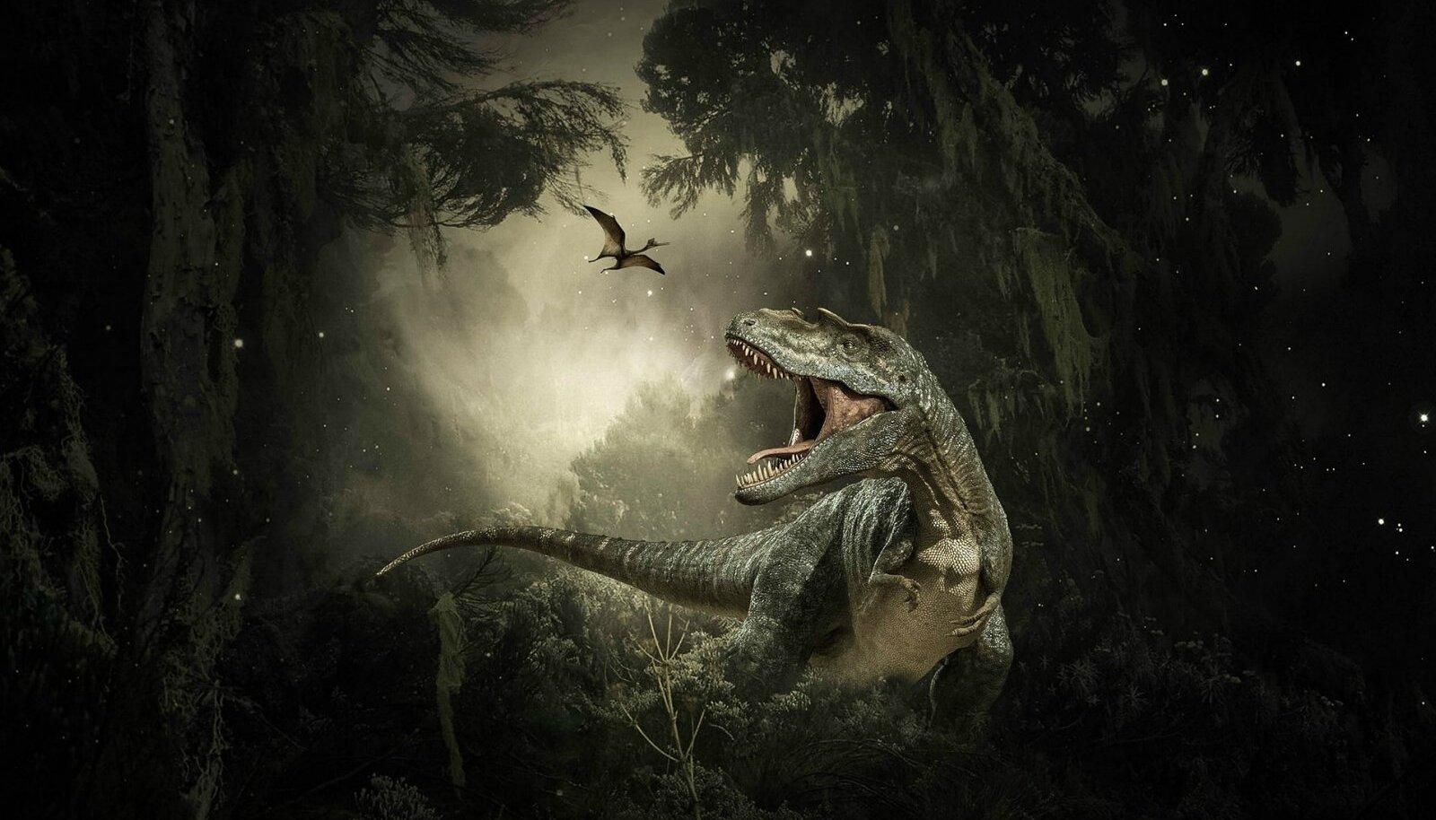 T. rex kunstniku nägemuses (Foto: Pixabay / Willgard Krause)