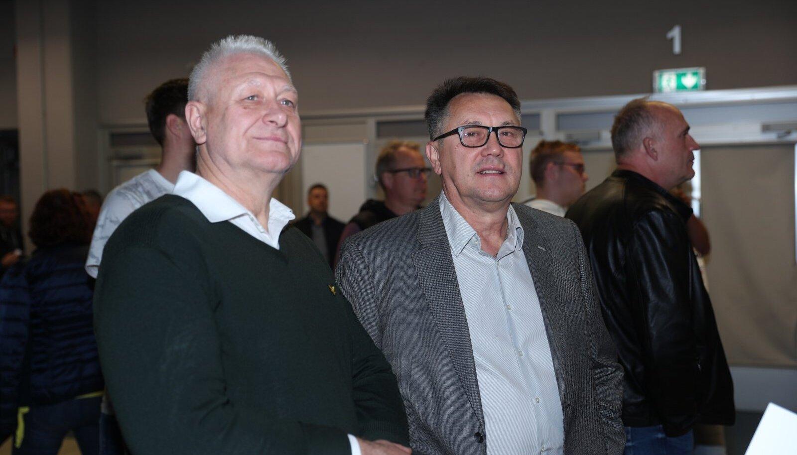 Stanislav Jerjomin (paremal).
