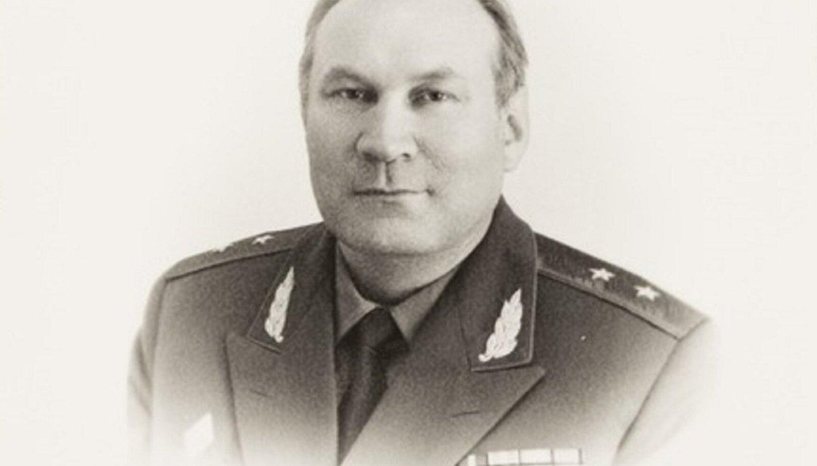 Eesti NSV Riikliku Julgeolekukomitee eelviimane esimees kindralleitnant Karl Kortelainen