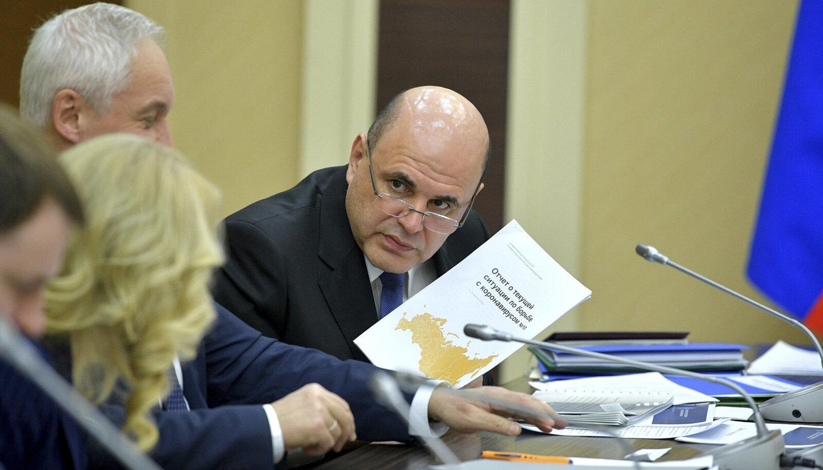 Глава правительства РФ Михаил Мишустин