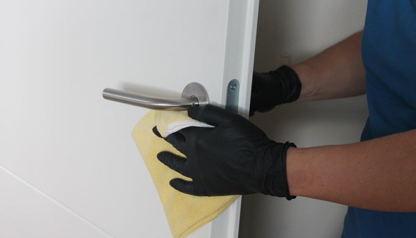 Kõige olulisem on hoolikalt puhastada need pinnad, mida sagedamini puututakse.