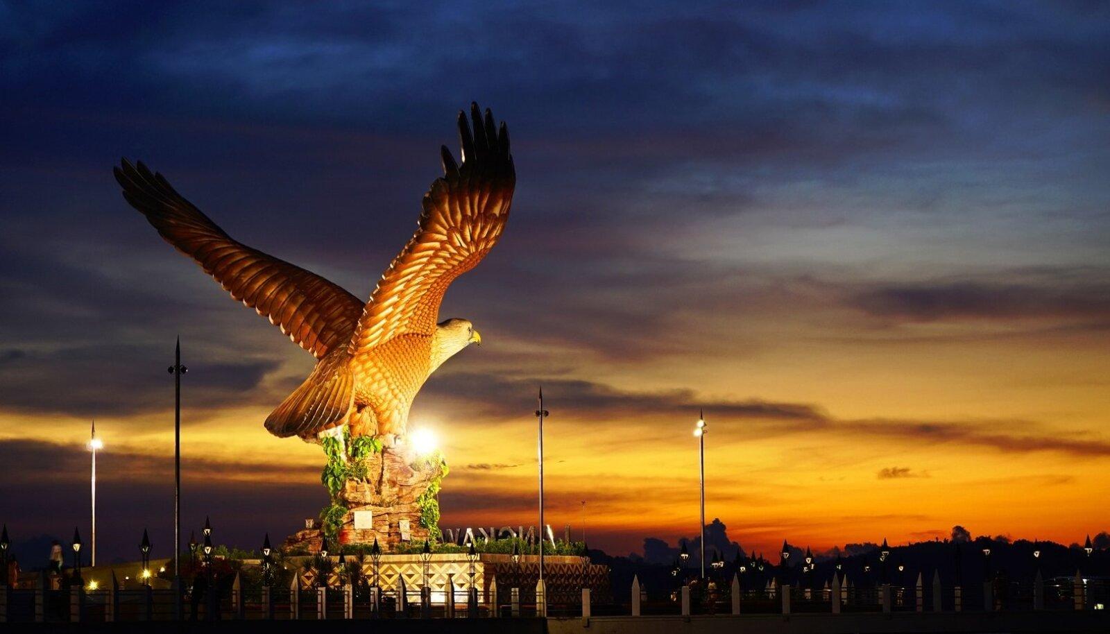 Langkawi saare sümboliks on kotkas.