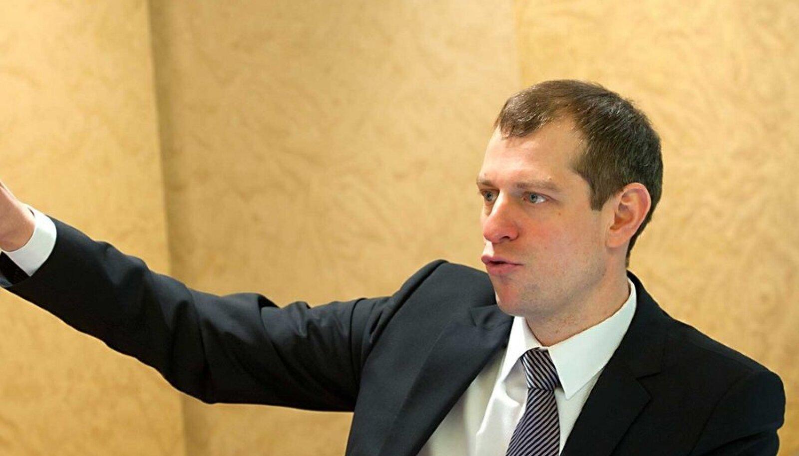Uus jõuline tegija: Taavi Veskimägi sai sügisel 2010 valitsuselt juhtnöörid arendada Eleringis välja gaasialane kompetents. Muuhulgas tellis ta firmalt Pöyry põhjaliku uuringu gaasituru arenguvõimaluste kohta.