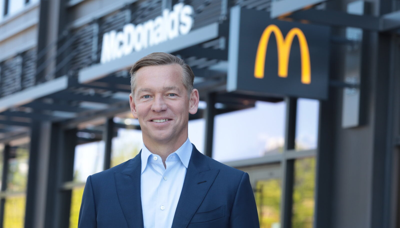 52-aastane Chris Kempczinski on olnud McDonald's'i tegevjuht ja president alates 2019. aasta novembrist