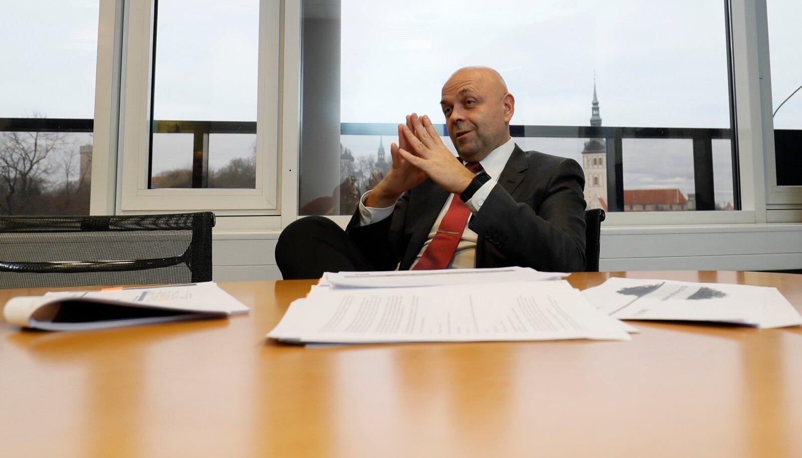 Raidla Ellexi tehingute ja ettevõtete nõustamise valdkonna juht Sven Papp nautis tehinguaktiivsuse suurenemise aastat.