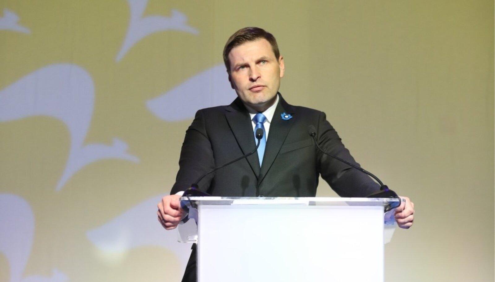 Hanno Pevkur täna üldkogul