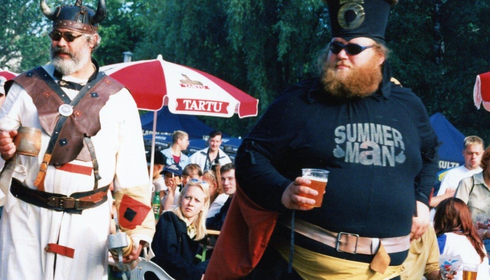 SUMMER MAN JA ÕLLEVIIKING: Õllesummer oli 1998. aastal üks suve suuremaid üritusi, kui mitte suurim.