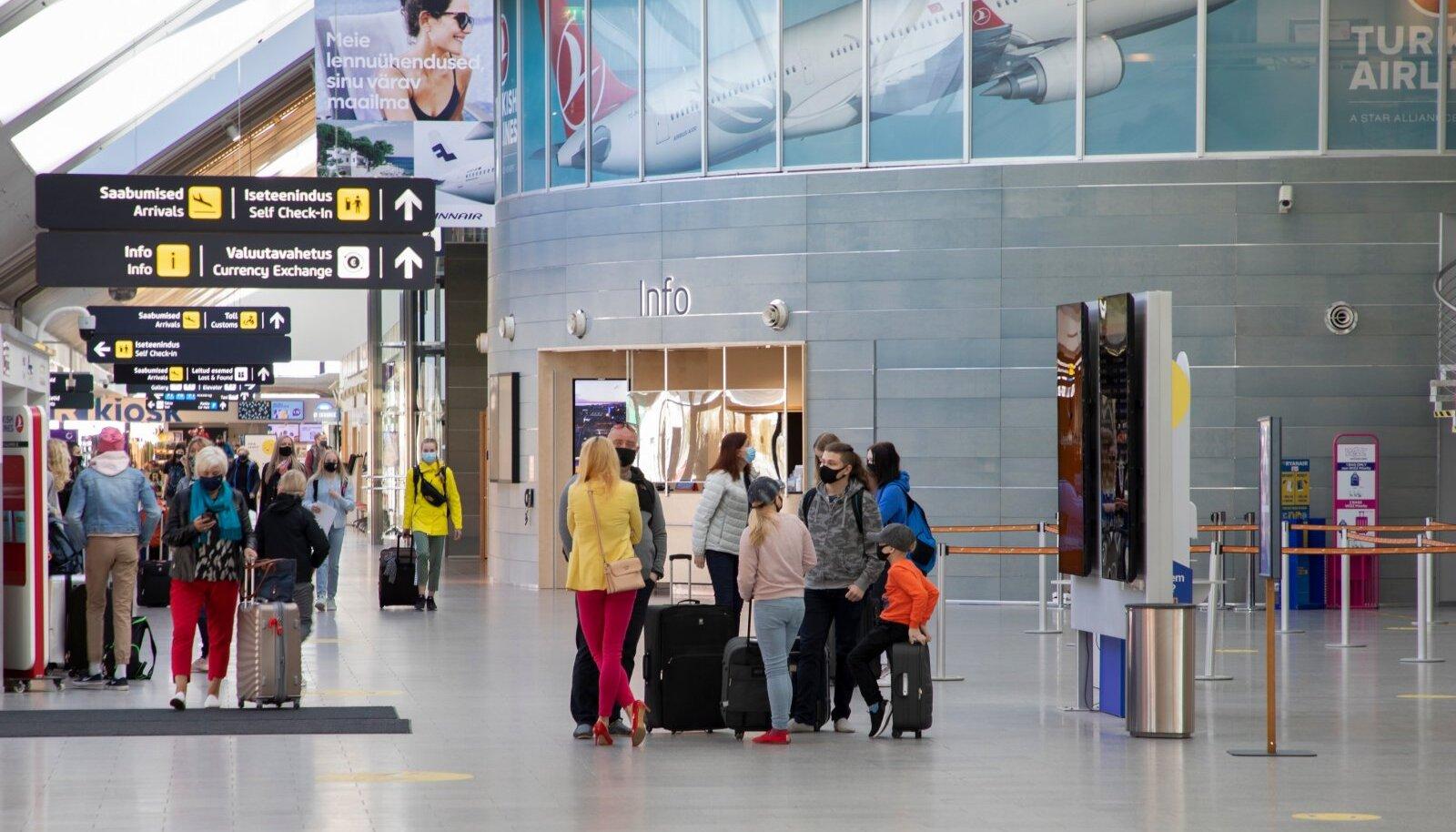 Tallinna Lennujaam, reisijad