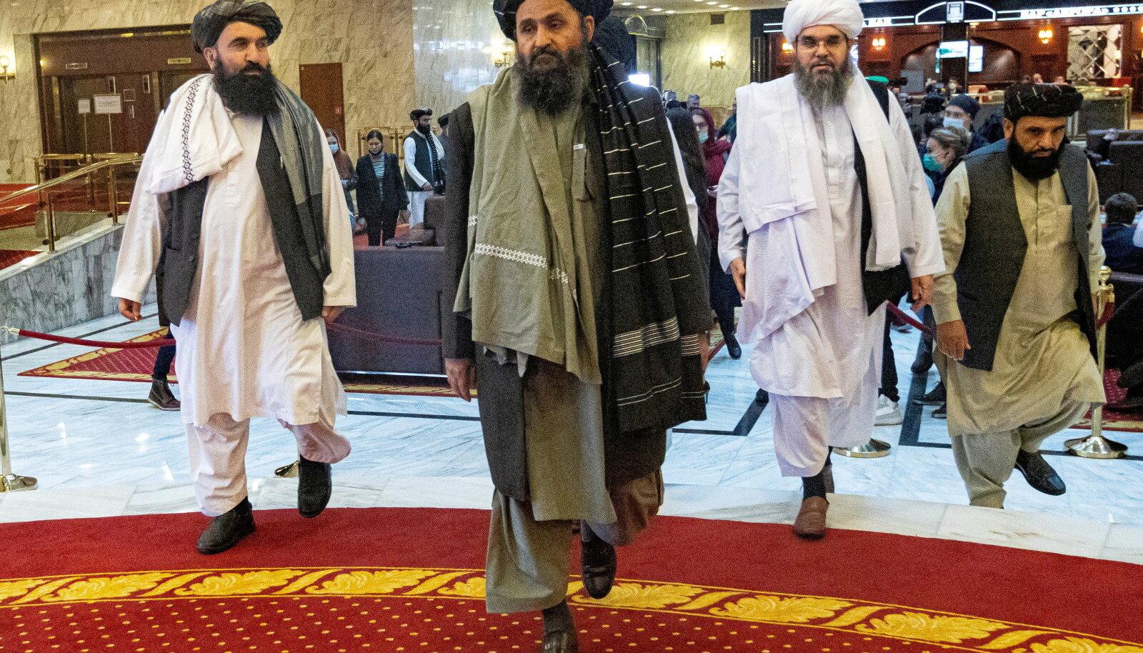 Talibani üks tuntumaid nägusid Abdul Ghani Baradar sellle aasta märtsis Moskvas.