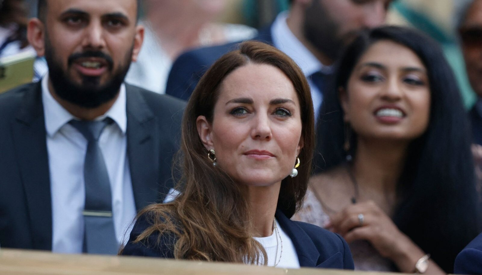 Kate väisamas Wimbledoni möödunud nädalal.