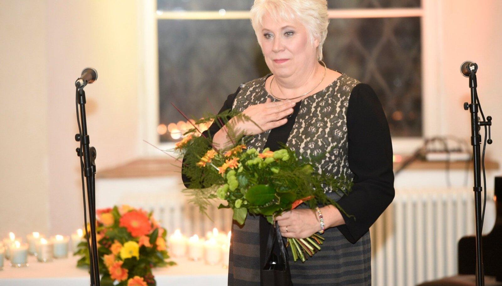 Marina  Kaljurand sai aasta naise tiitli