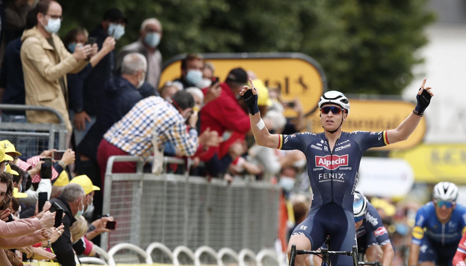 Võidumees Tim Merlier