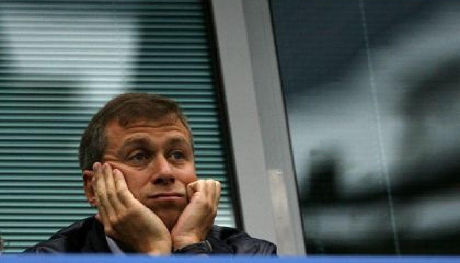 Londoni jalgpalliklubi Chelsea F.C. omanik suurärimees Roman Abramovitš