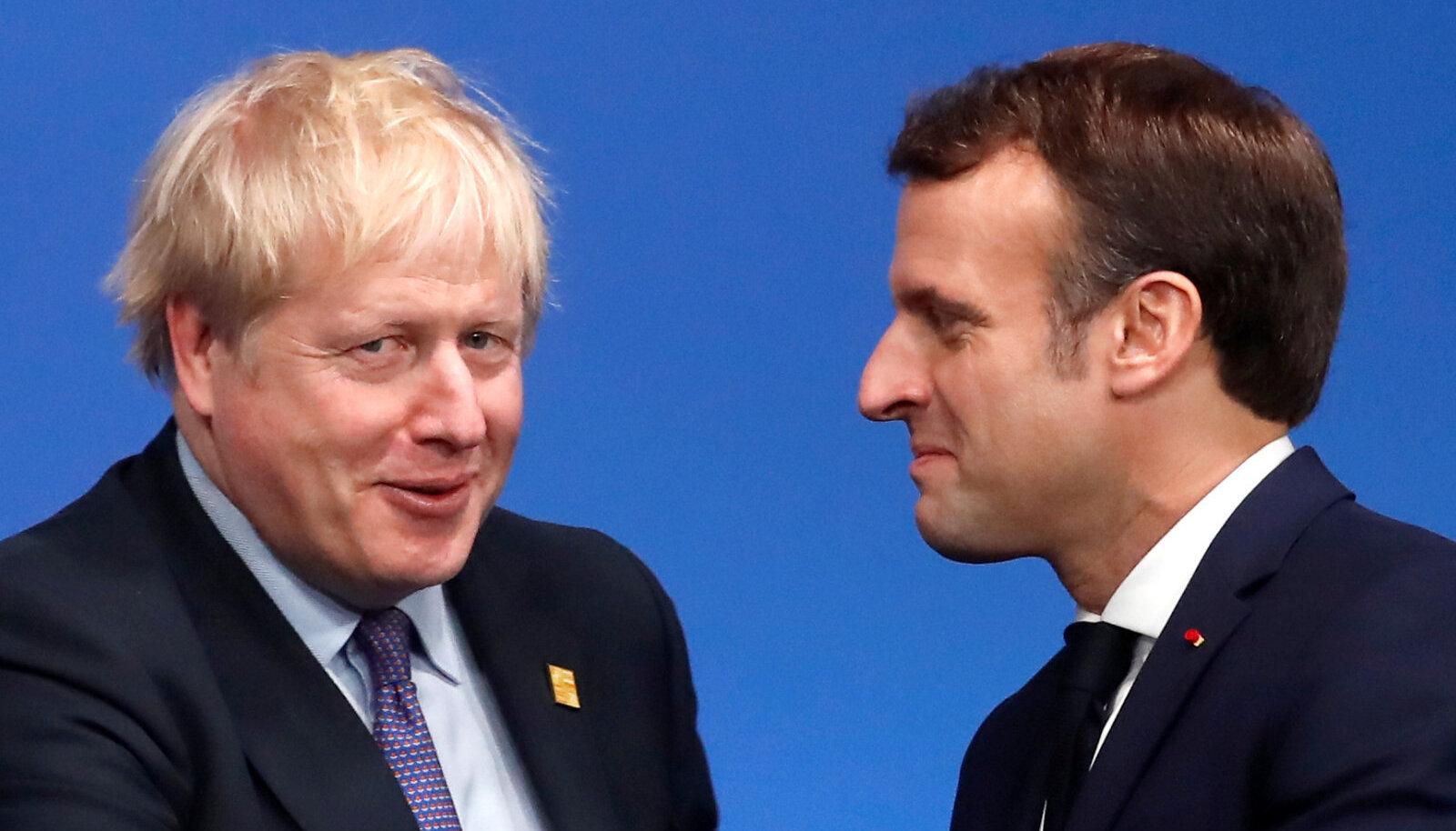 Boris Johnson ja Emmanuel Macron