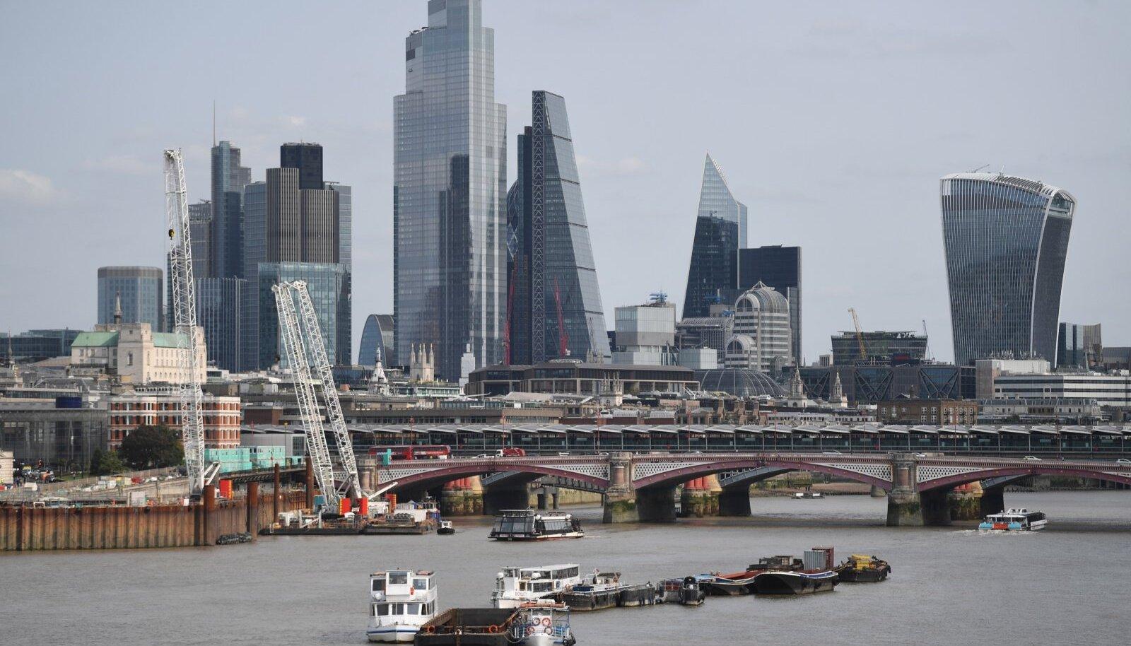 London finantskeskusena saab Brexitist tugeva löögi.