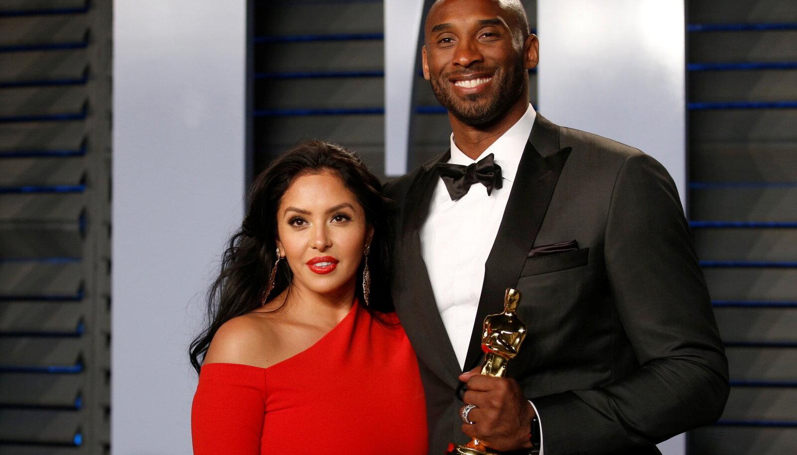 Vanessa ja Kobe Bryant, 2018