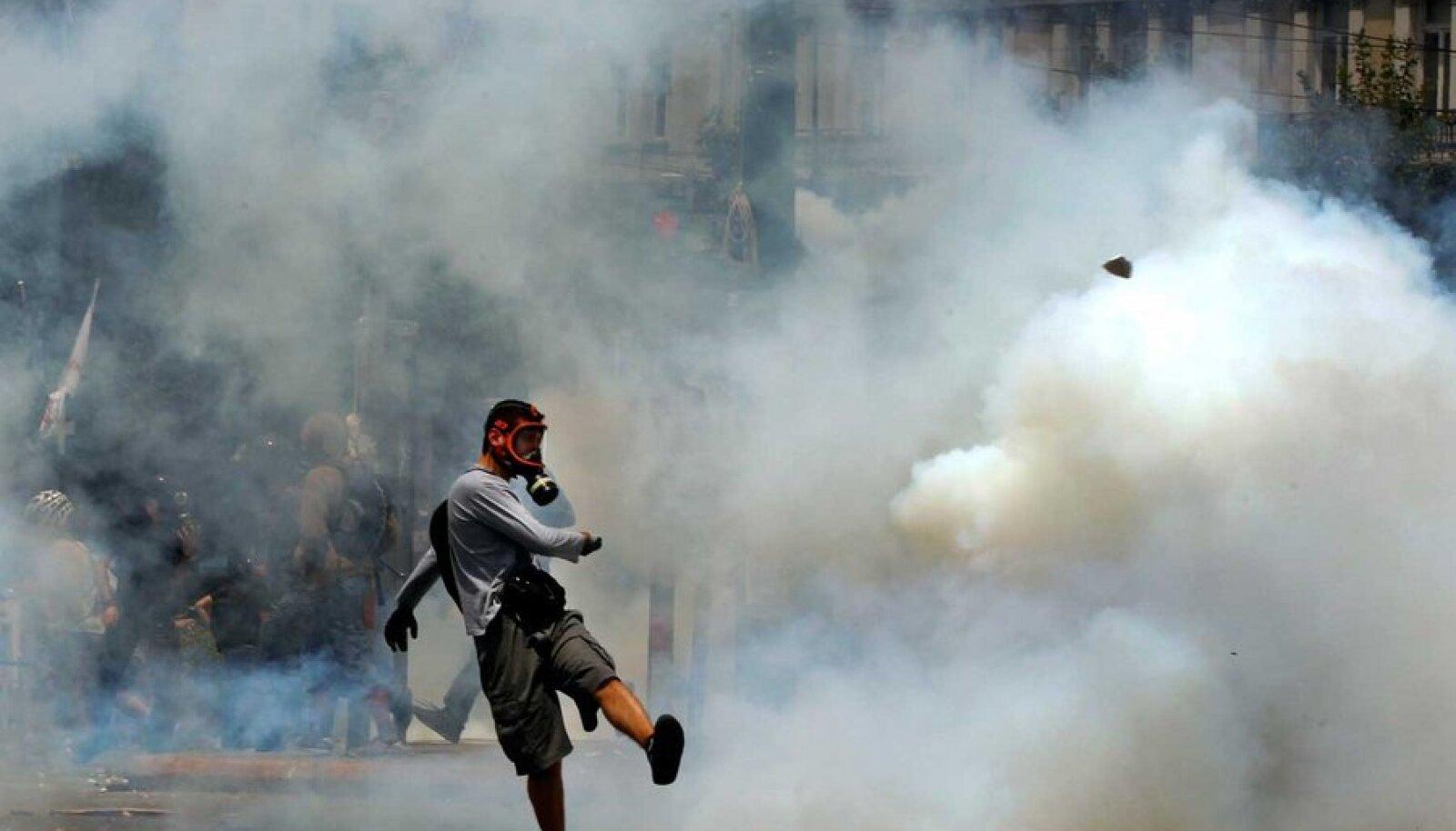 Kreeklastel on, mille eest võidelda. (Foto: Reuters/Scanpix)