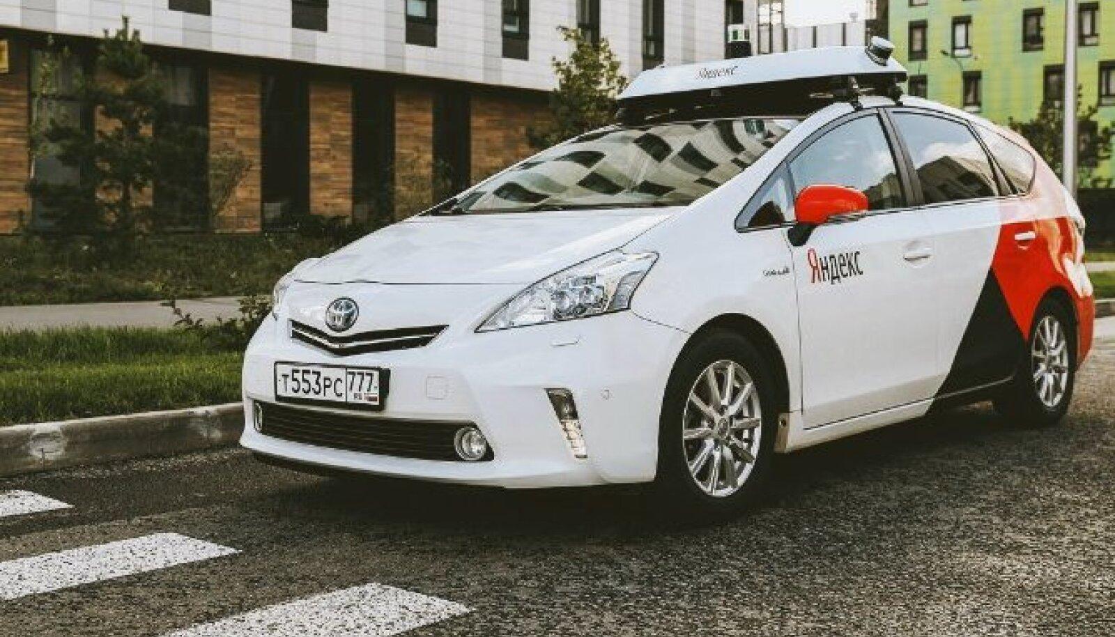 Yandexi isejuhtiv auto