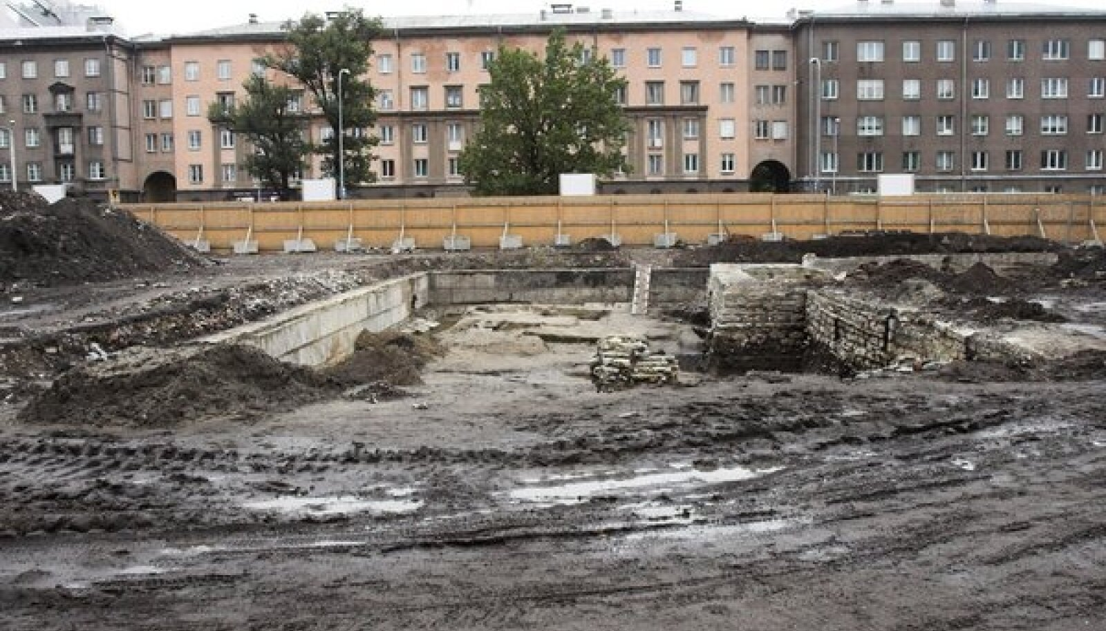 EKA plats pärast lammutustöid
