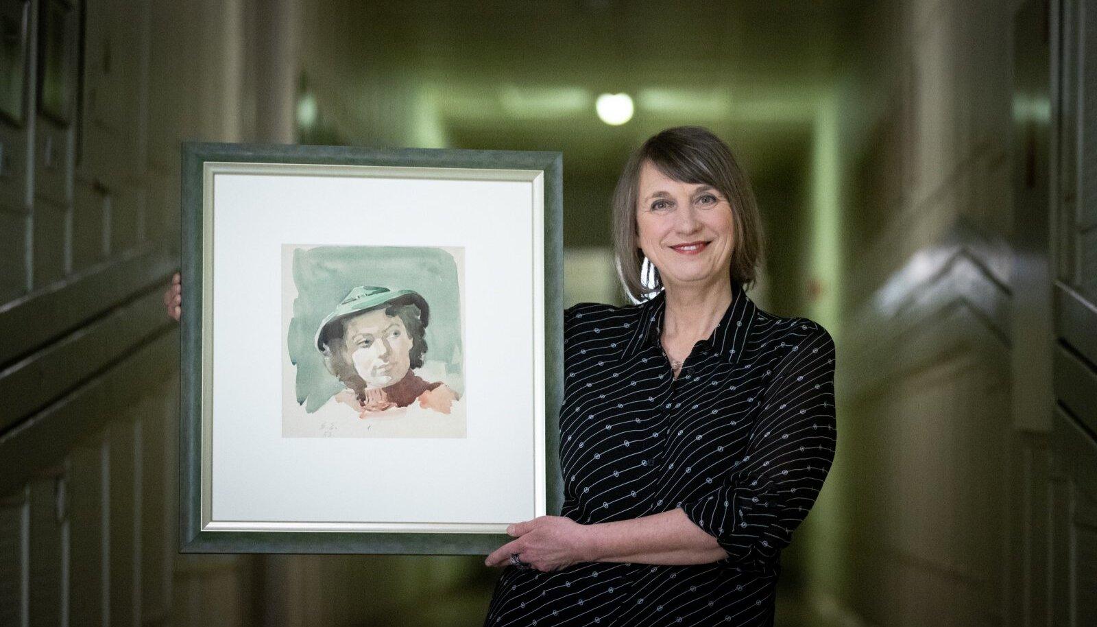 Saatejuht Margit Kilumets tegi Ita Everi juubeli puhul hoopis endale kingituse.