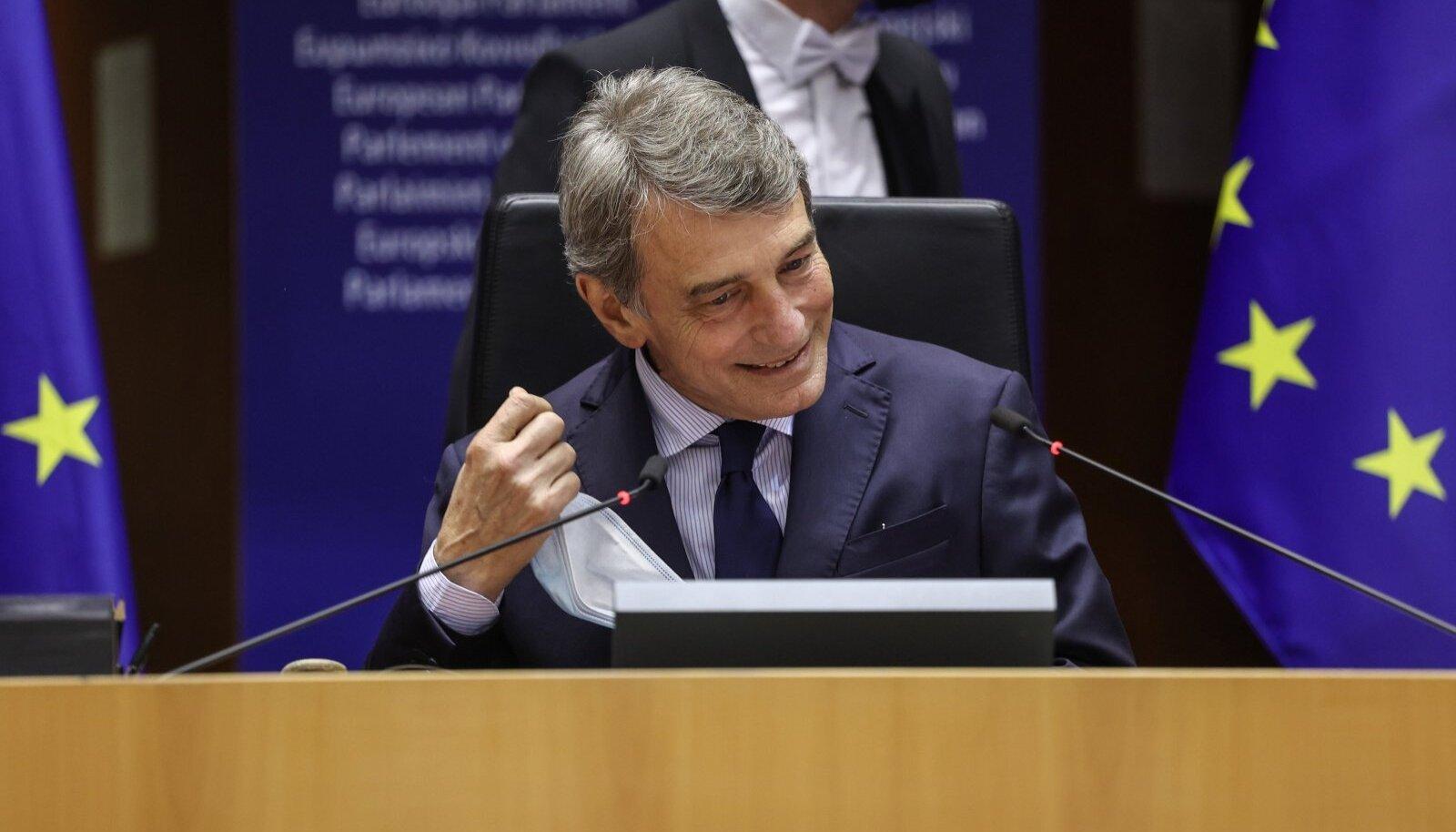 Koroonapandeemia on paljudele eurooplastele näidanud, et üheskoos tegutsedes oleme tugevamad, leiab Euroopa Parlamendi president David Sassoli.