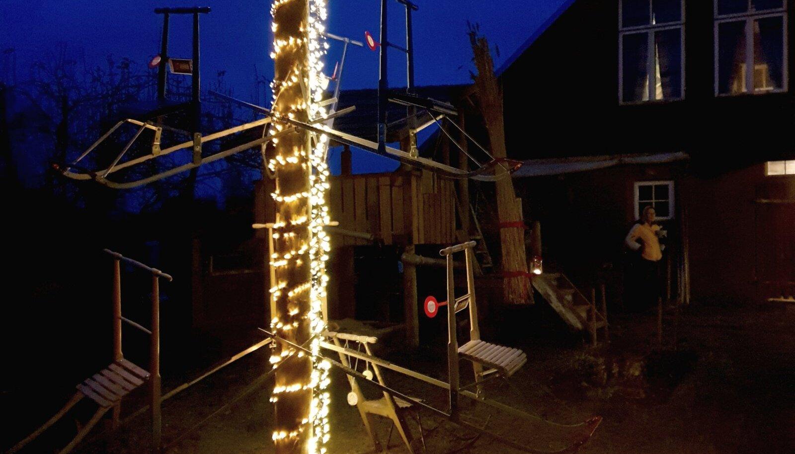 Sibulatee jõulupuu
