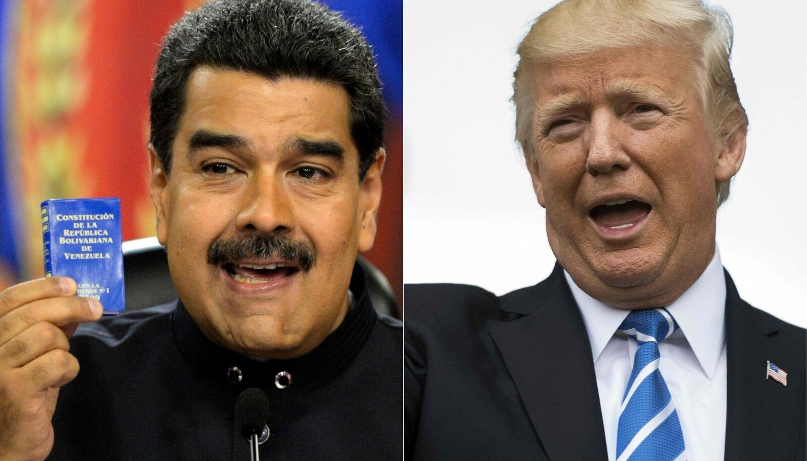 Nicolás Maduro ja Donald Trump