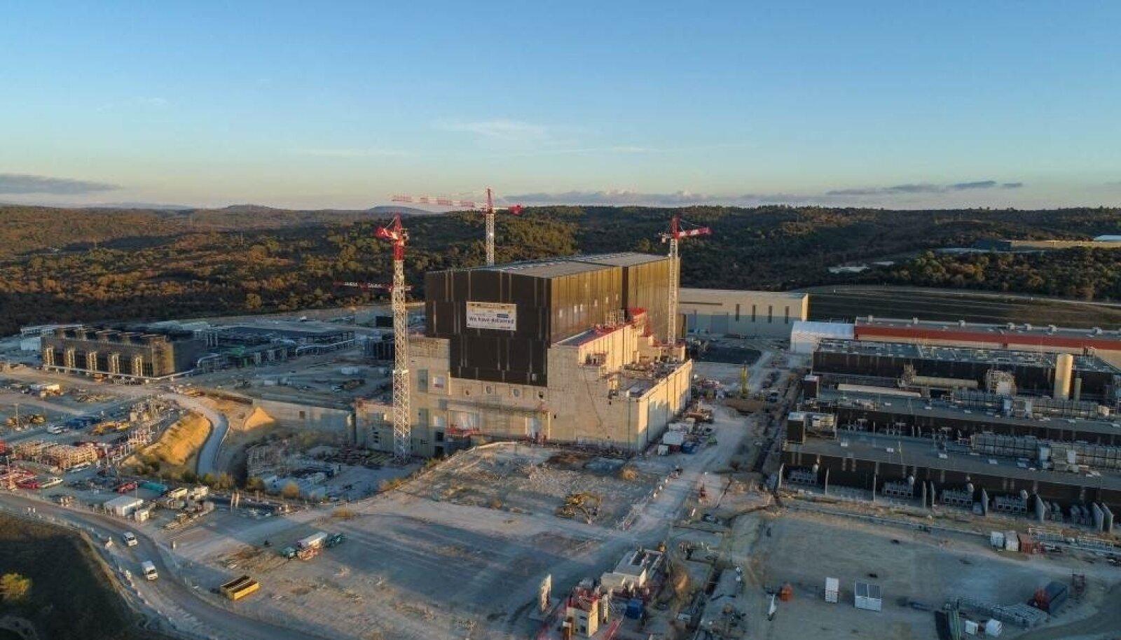 Energeetikas evolutsiooniline reaktor ehitatakse paljude riikide ühise jõupingutusega Lõuna-Prantsusmaale.