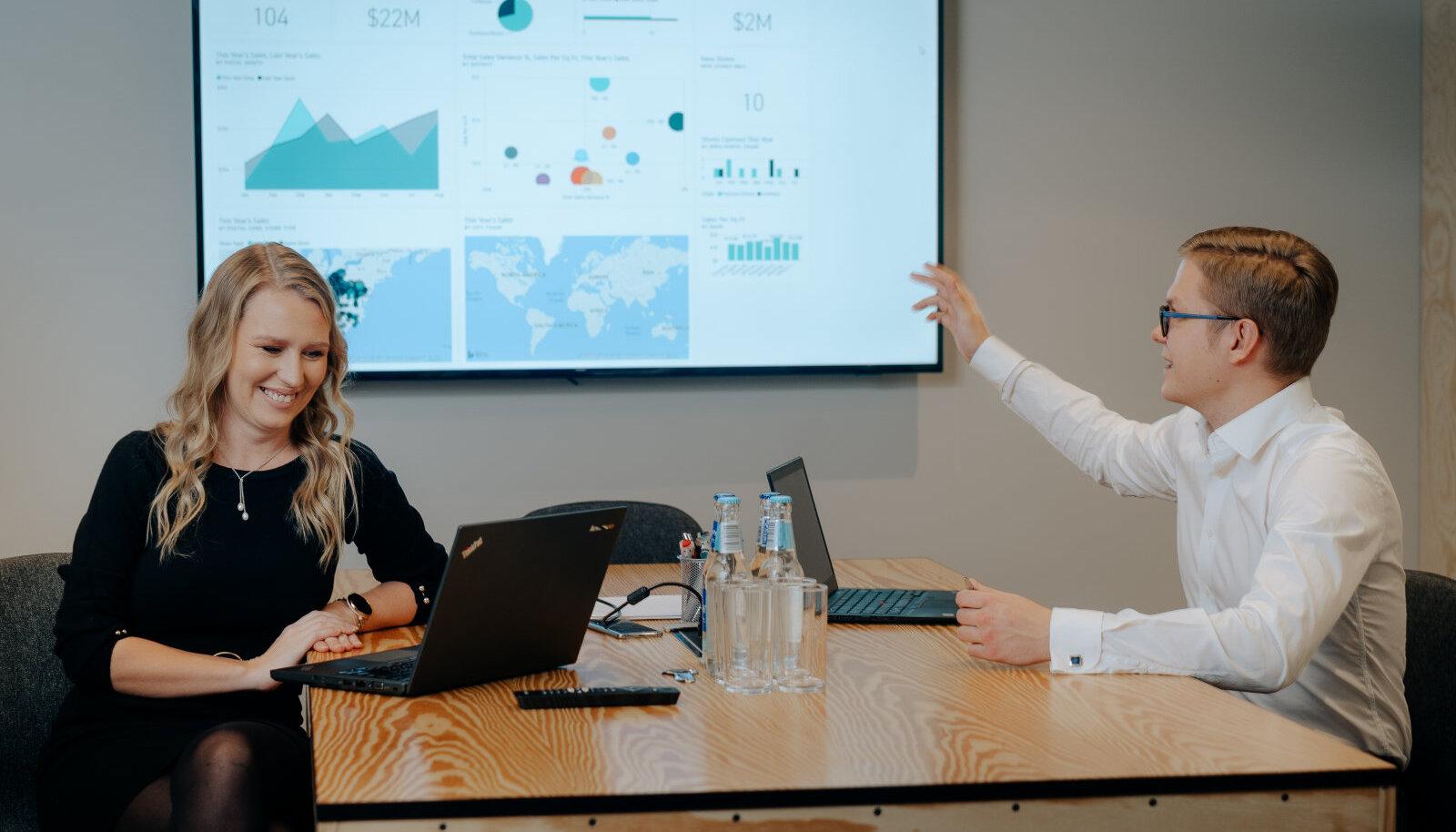 Net Group, Agnes Urbanik ja Anders Abel