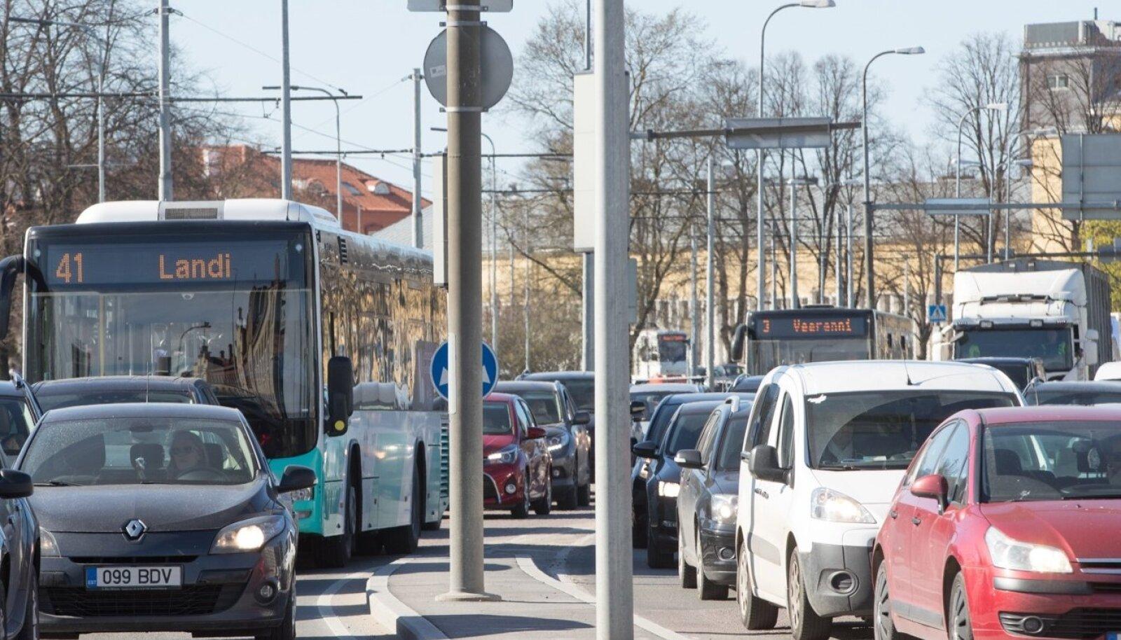 Tallinna liiklus.