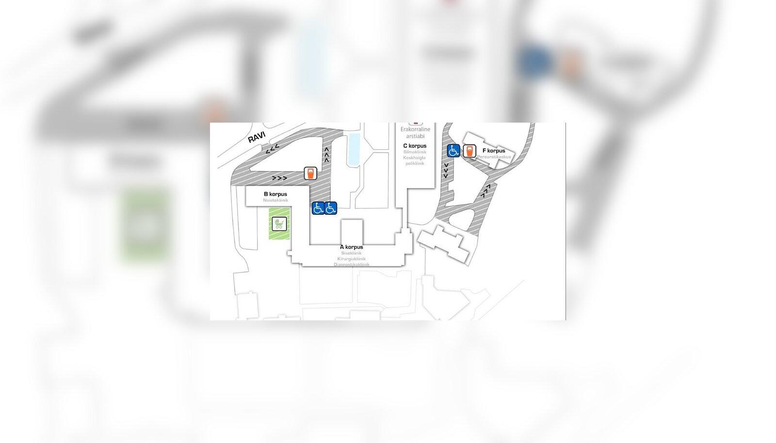 e65c9118d67 Parkimine Ida-Tallinna Keskhaigla juures on reedest tasuline