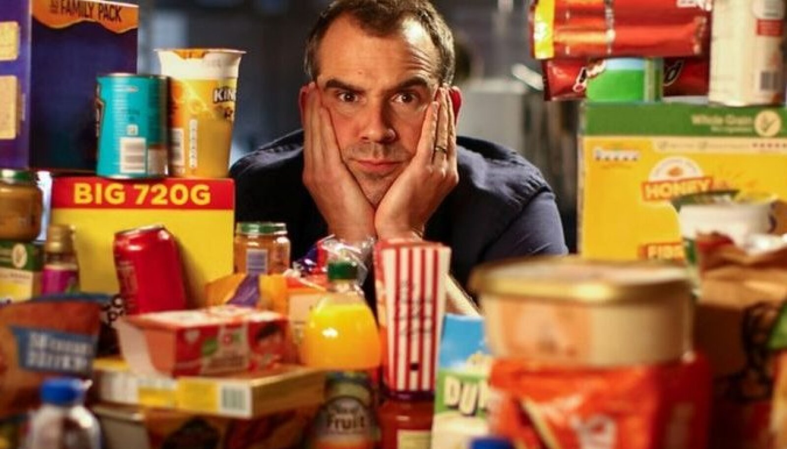 Телеведущий доктор Крис ван Туллекен поставил перед собой задачу в течение месяца придерживаться диеты, состоящей в основном из переработанных продуктов