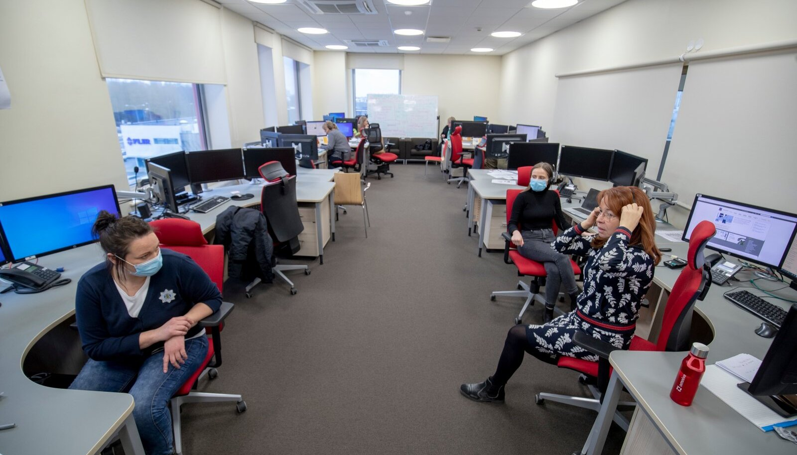 Häirekeskuse riigiinfo telefoni 1247 vabatahtlikud.