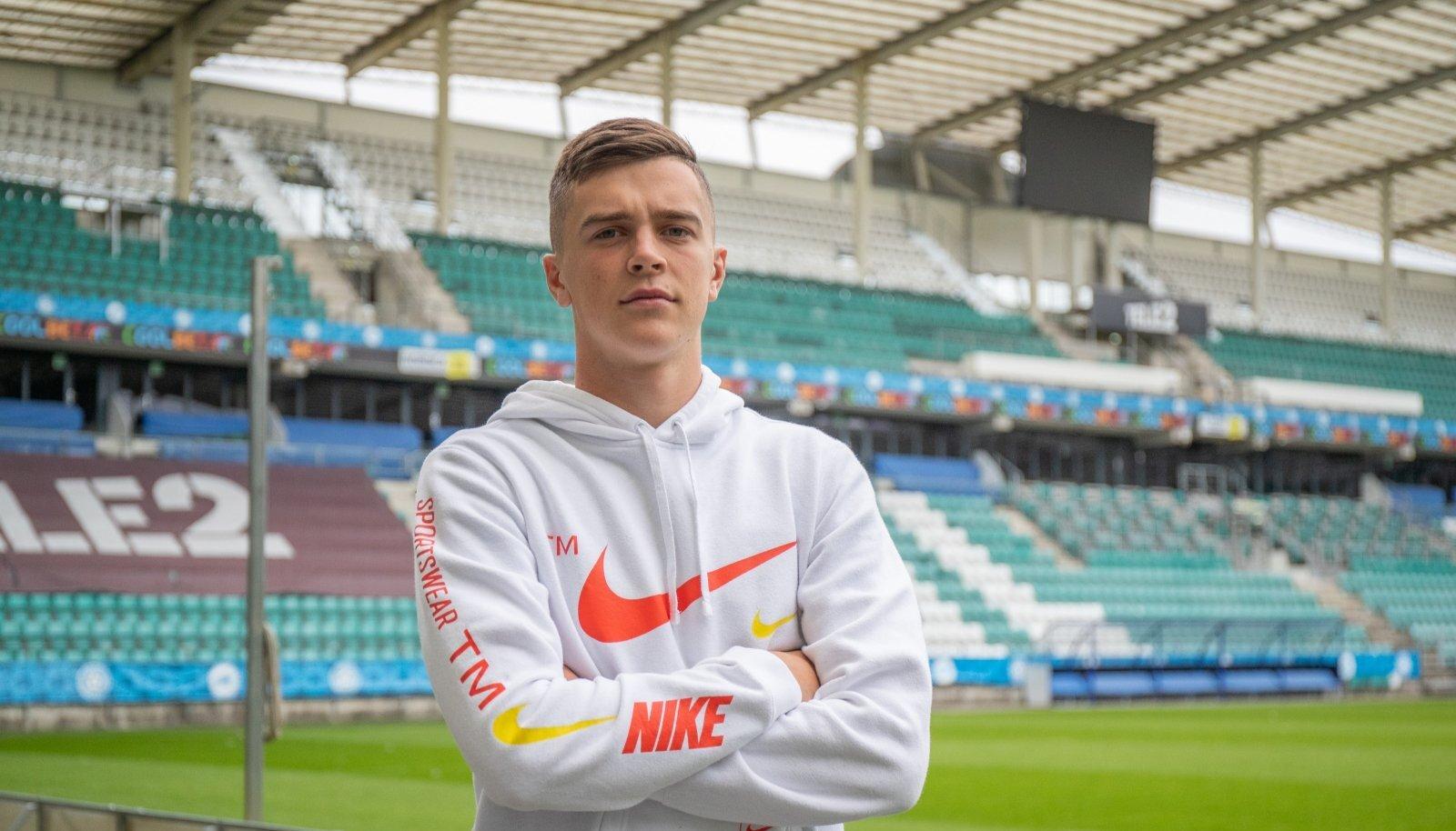 Georgi Tunjov loodab, et tulevikus õnnestub tal Lilleküla staadionile joosta ka Eesti A-koondise jalgpallurina.